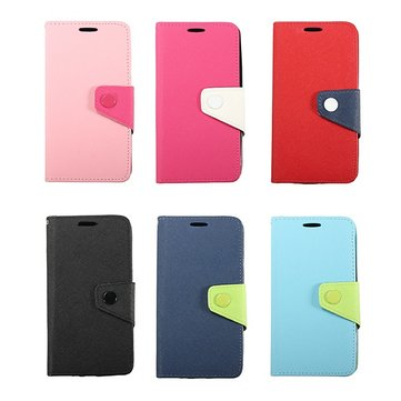 Megnetic Flip Wallet PU Leather Case For LG G3 D850 D851 D855