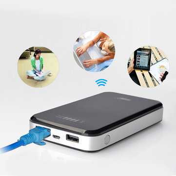 HAME Y5 10000mAh 3G Router Wifi Power Bank