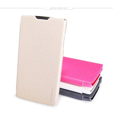 NILLKIN Sparkle Leather Protective Case For OPPO R831S