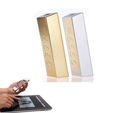 REMAX Gold Bars Portable 6600mAh Power Bank For Mobile Phone