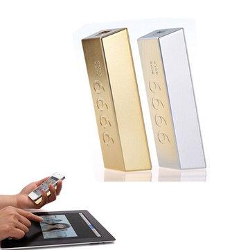 Cep Telefonu İçin REMAX Altın Barlar Taşınabilir 6600mAh Güç Bankası