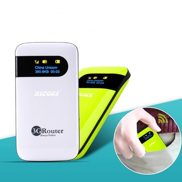Mobile Device Portable Pocket Mini 3G WiFi Router With SIM Card Slot