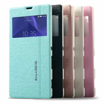 KALAIDENG Iceland II Series Protective Leather Case For SONY XPERIA T3