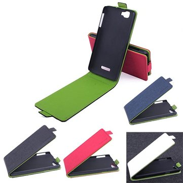 Mix Color Up-down Flip Leather Case For Explay Fresh