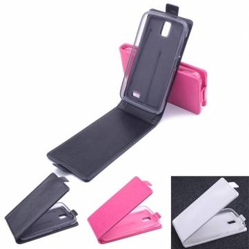 PU Flip Leather Case Cover Dirt-resistant For Lenovo A328 A328T
