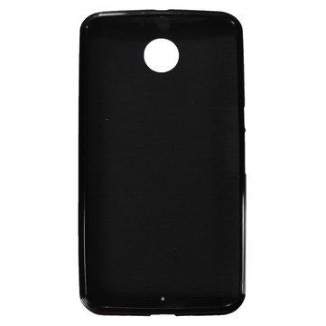 Dayanıklı Parlak Yumuşak TPU Jel Kılıf Motorola Google Nexus 6 için