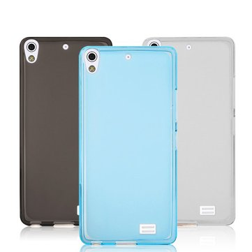 Protection lumineuse douce TPU pouding retour cas pour Gionee S5.1 gn9005