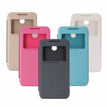 Nillkin Sparkle Series View Window Leather Case For HTC Desire 510