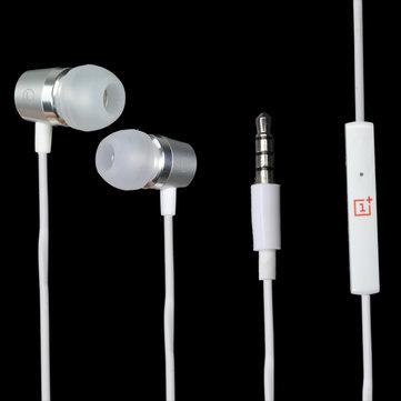 Orijinal OnePlus 3,5 mm Kulak İçi Stereo Telefon Kulaklığı, Mikrofonlu, Akıllı Telefon