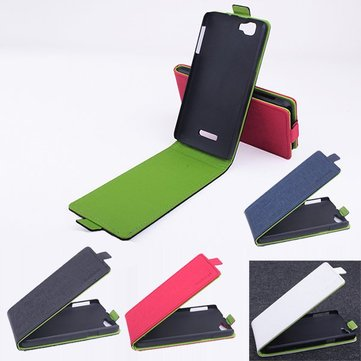 Flip Contact Color Up-down Protective Case For MyPhone Agua Rio
