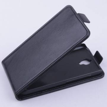 Flip Up-down Leather Magnetic Protective Case For Alcatel 6016D A E