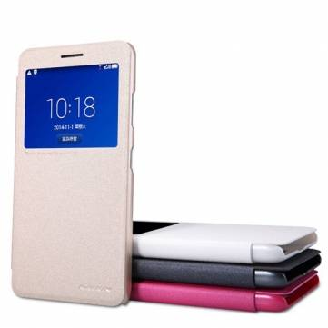 Original NILLKIN New Leather Case-Sparkle Case For Lenovo S856