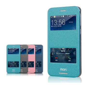 Mofi Hui Series Window PU Leather Case For HTC Desire 820 Mini