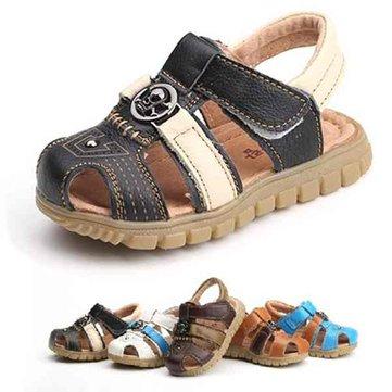 Cuir de bébé Summer Infant bébé semelle molle sandales