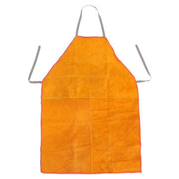 Welders Welding Apron Chrome Leather Tan Heavy Duty Blacksmith