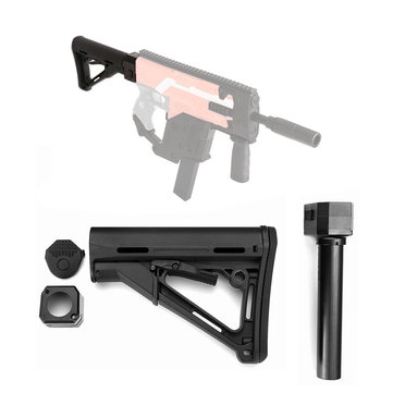 WORKER Mod Shoulder Stock Adapter Attachment Part For Nerf N-Strike Elite Retaliator