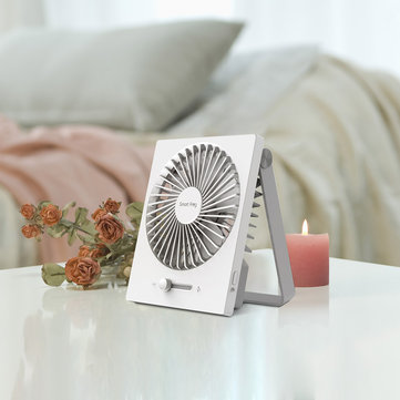 XIAOMI Smartfrog Foldable Mini Fan Handheld Cool Summer Fan USB Rechargable Fan for Office Home Camping Travel