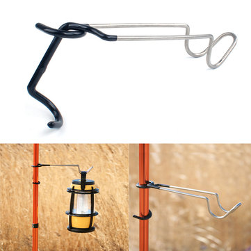 Outdoor Camp Lantern Hook 304 Stainless Steel Light Clamp Holder
