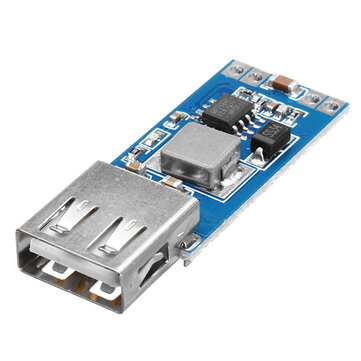 DC-DC 7.5-28V To 5V 3A Step-Down Power Supply Module Cellphone Car Charger USB Buck Regulator 9V/12V/24V/28V To 5V