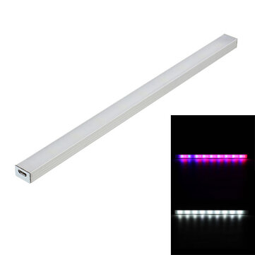 25cm 5W 36 LED Dimmable 9 White 18 Red 9 Blue Grow Light Table Lamp for Indoor Plant DC5V