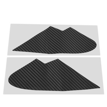 Pair 3D Carbon Fiber Quarter Window Trim Overlays Car Stickers for Subaru WRX/STI 2015 2016