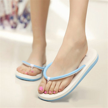 Fashion Women Summer Casual Flip Flops Beach Slippers Sandals Summer Shoes