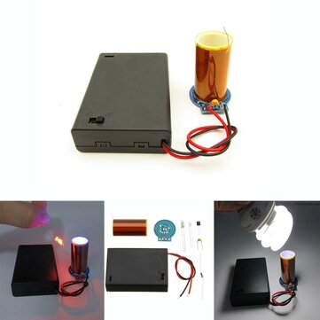 DIY Dry Battery Powered Tesla Coil Kit Mini Tesla Module Kit