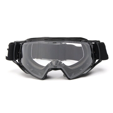 Motorcycle Goggles Motocross Off-Road ATV Bike Helmet Eyewear Anti-UV Clear