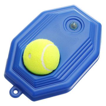 Tennis Training Base Tool Exercise Self-study Rebound Ball Baseboard Set