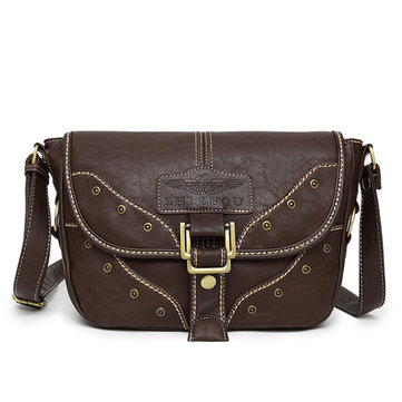 Women Vintage Punk Style Crossbody Bags Shoulder Bags