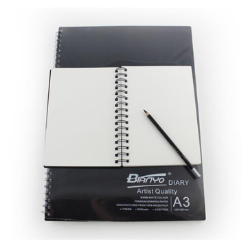 Original Bianyo Hard Surface Sketch Notebook Special Picture Book A3 A4 A5 Libro