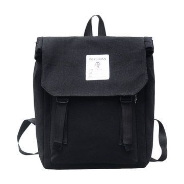 20L Backpack Canvas School Bag 15 Inch Laptop Backpack Outdoor Camping Pack