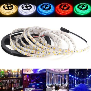5M 72W 24V Super Bright 5050 Waterproof 300LEDs Flexible Strip Tape Light