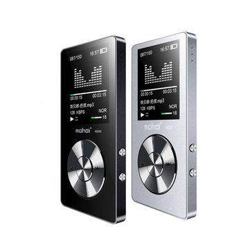 2Pcs Mahdi M220 Metal MP3 Portable Digital Audio 1.8 Inch Screen FM E-Book Clock Music Player Speaker