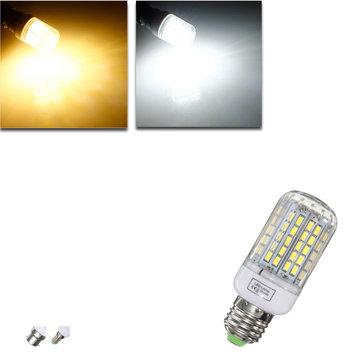 E27 / E14 / B22 สามารถหรี่แสงได้ 9 วัตต์ AC110V LED หลอดไฟสีขาว / สีขาวอบอุ่น 96 SMD 5730 หลอดไฟนีออน