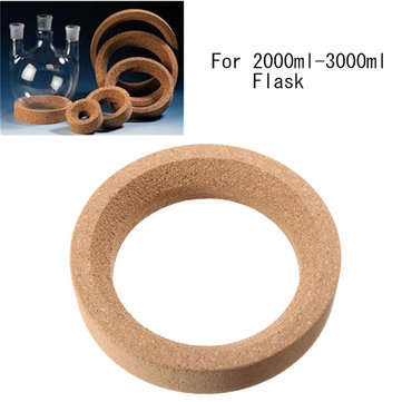 163x114mm Laboratory Cork Stands Ring Corks for 2000ml-3000ml Flask
