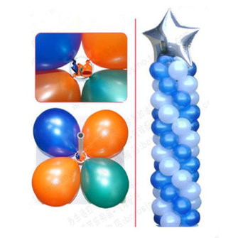 50pcs Decorative Balloon Arch Folder Multiple Accessories Convenient Clip