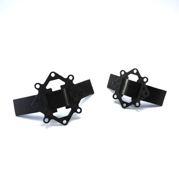 Battery Strap Fixed Plate 16x16mm 20x20mm 3K Carbon Fiber For RC Drone FPV Racing Multi Rotor