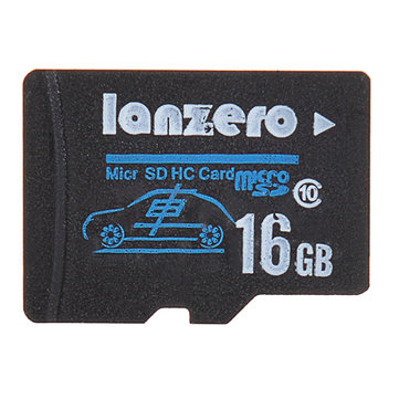 Lanzero 16GB Micro Sd Class10 TF Tachograph Memory Card for Xiaomi Yi EKEN H9 EKEN H8 sj5000x sj5000 plus K6000 sj4000 M20 Gitup 2 H8R H8 Pro Car DVR Action Camera
