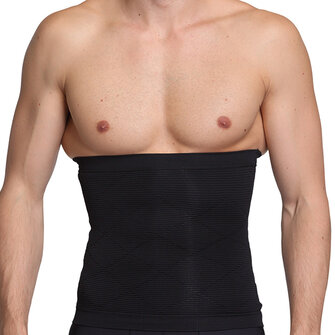 Germanium Titanium Silver High Elastic Abdomen Girdling Belly Waistband Men Body Sculpting Shapewear