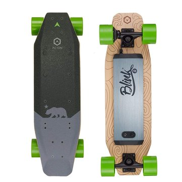 ACTON BLINK S 500W Electric Skateboard Intelligent Remote Control Load 100kg With LED Light From Xiaomi Youpin