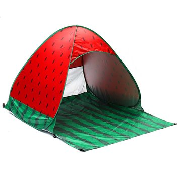 Outdoor 2-3 People Automatic Pop Up Tent Waterproof UV Beach Sunshade Shelter Camping