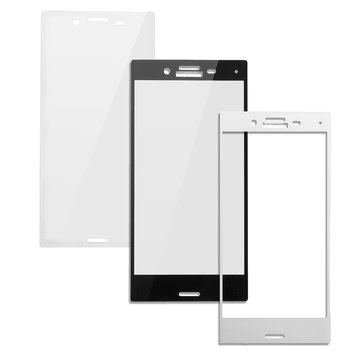 Full Screen Tempered Glass Screen Protector for Sony Xperia X Compact