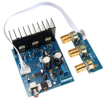 TDA2030A 2.1 Subwoofer Amplifier Board 3-Channel Electronics Module
