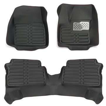 Front And Rear Liner Car Floor Mat Leather For Ford ESCAPE KUGA