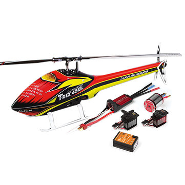 Align T-REX 450L TOP 450LP RC Helicopter Dominator Super Combo