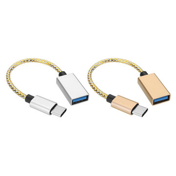 Bakeey Type C To USB3.0 OTG Adapter Data Cable 16cm For Mobile Phone Tablet Camera