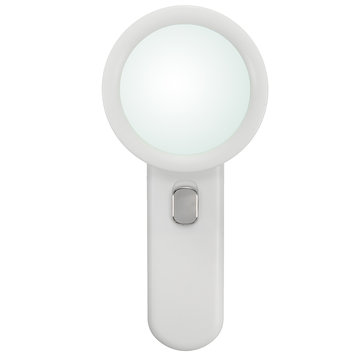 20X LED Handheld Loupe Magnifier Reading Jewelry Magnifying Glass with 10 Lights