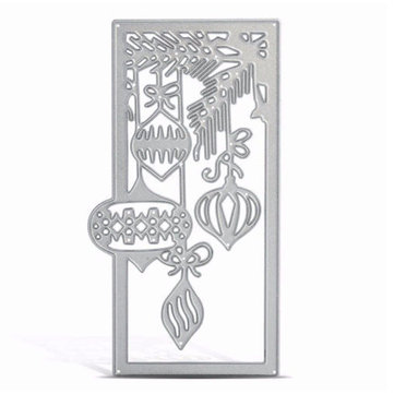 Metal Lantern Pattern Cutting Dies Molds for DIY Christmas Paper Card Craft Stencil Scrapbook Gifts