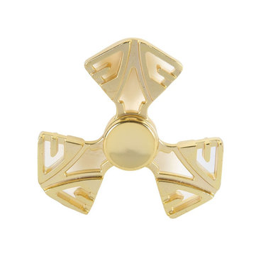 Tri Spinner Zinc Alloy Rotating Fidget Hand Spinner ADHD Autism Reduce Stress Focus Attention Toys
